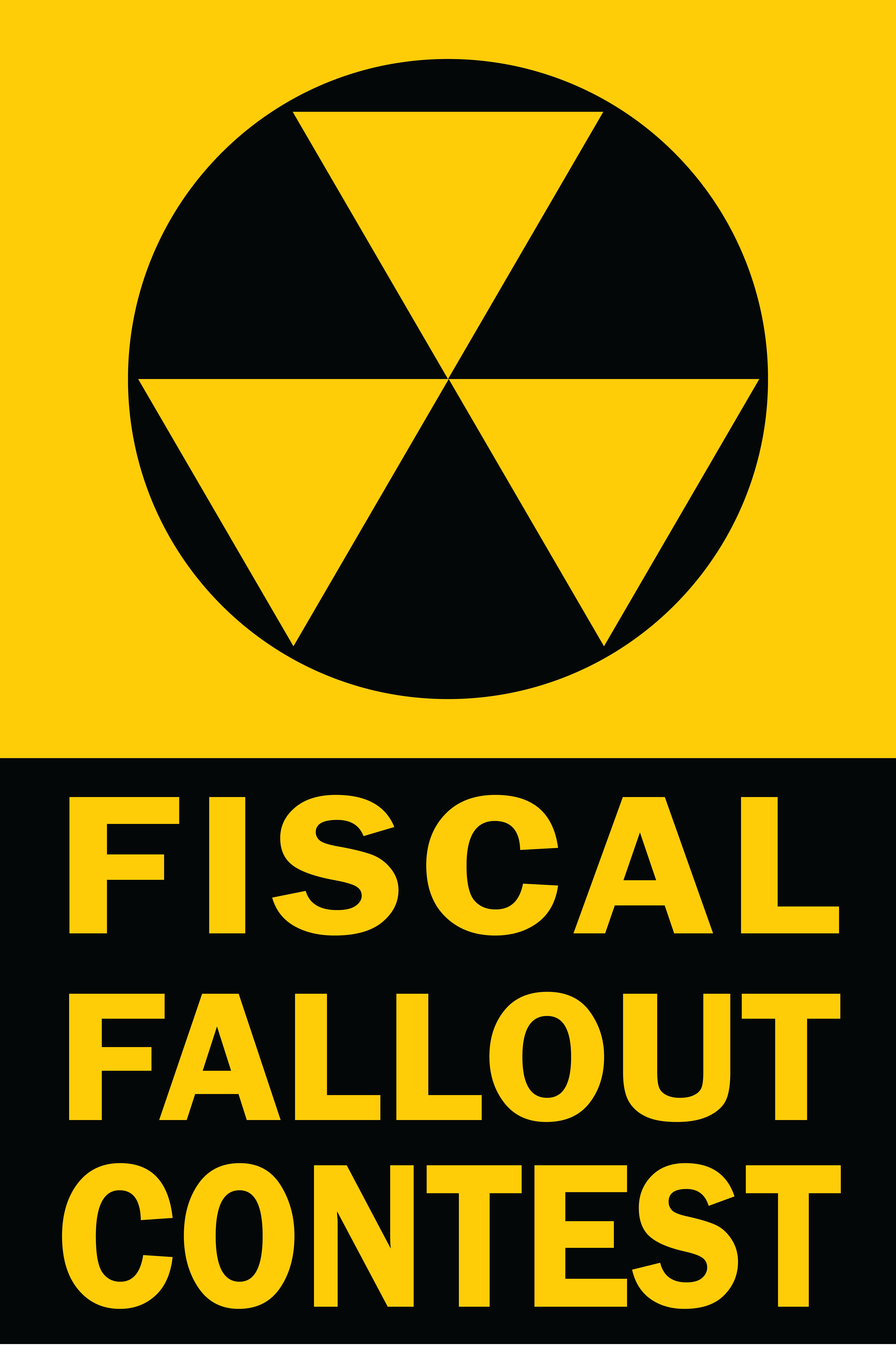 CRFB Fiscal Fallout Contest Logo