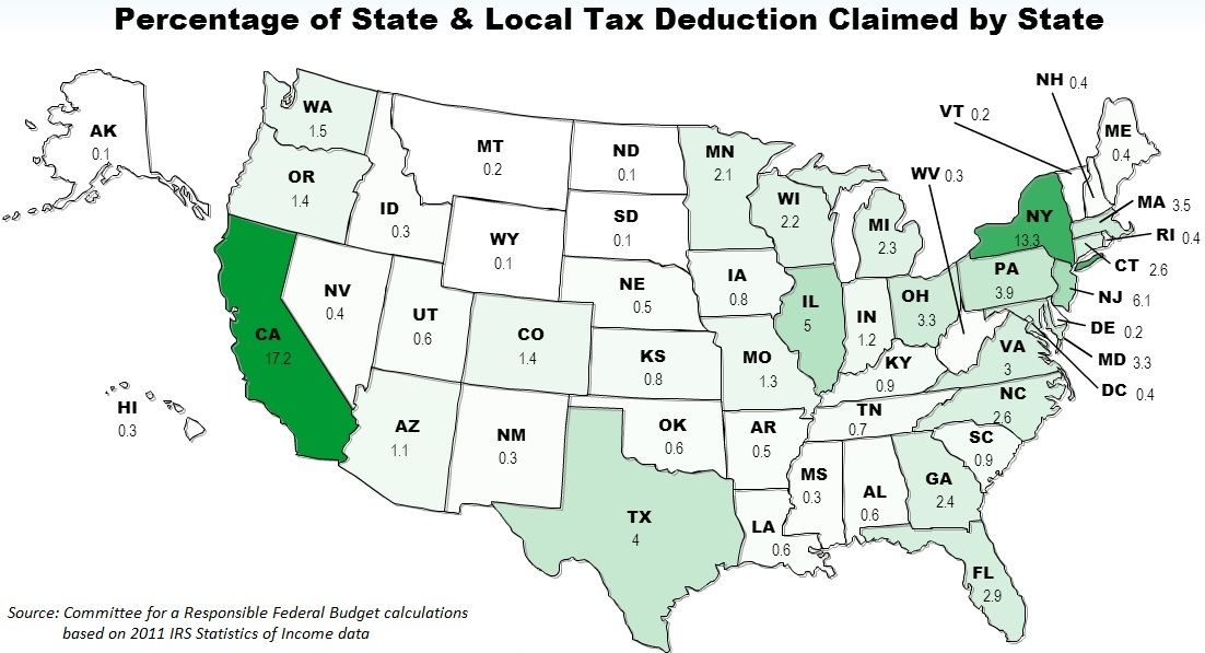 Map of Tax Cuts